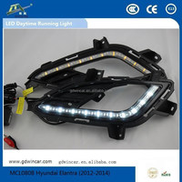 Factory Top Quality Work Lights Turn Light for Hyundai Accent LED Daytime Running Light(2012-2013)