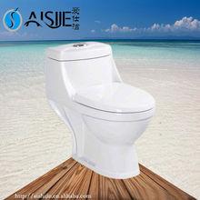 Bath Set Ceramic Sanitary Ware Ceramic Save Water Toilet bowl India Washdown One Piece Toilet A3117