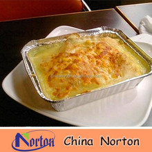 disposable aluminum foil container with lid NTP- ALF148B