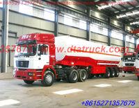 SHACMAN tractor DTA Aluminum Alloy tank semi-trailer for fuel oil,super diesel ,Jet Al sale sale commission 2~5%