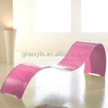 GH-RZ217 modern Professional design acrylic chair,customized acrylic lounge chair