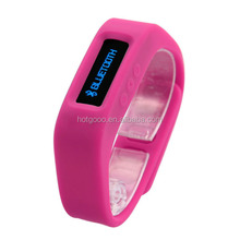 new arrival OEM&ODM are accept Sleep monitor, smart wristband Music&calls cheap silicon rubber colorful watch
