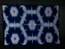 Led d video star cloth curtain