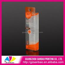 Pvc emballage impression boîte de cigarettes