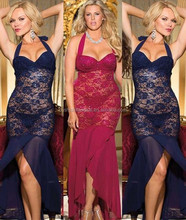 plus size for fat women lady mama size EU USA standard sexy lingerie home wear sleepwear silk sleepwear club wear club dress