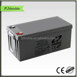 High quality 200AH Sealed Type 12 volt deep cycle batteries factory best price