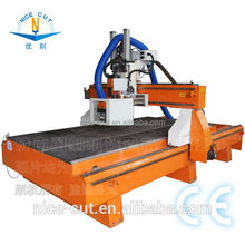 NC - 1530 HSD Air cooled spindle CNC Router Machine Wood Working Center For Furniture Making