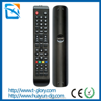 Dongguan manufacture custpmized sansui tv remote control with CE ROHS