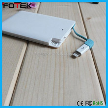 Polymer 2500mah power bank high-demand-import-products