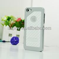 Napov - Dog & Bone Cushy White Silicon Pattern Unique Design for iphone 5 5s cell phone case