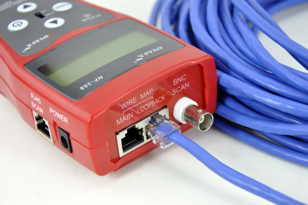 FREE SHIPPING, HOT !!! NOYAFA NF-388 Network LAN Phone Cable Tester / 8 far-end test jacks, hunt 5E, 6E - huntfish.top - hunter