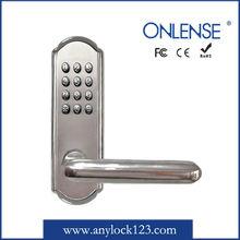 stainless steel finish lock digital