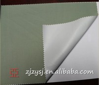 PU Silver Coated Polyester Fabric Waterproof Fabric car cover fabric