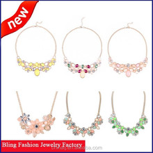 Alibaba China fashion accessories high quality vintage bib statment colar necklace