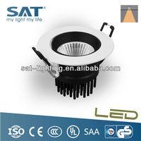 Mini Single LED Lights 7W COB Recessed China LED Lighting