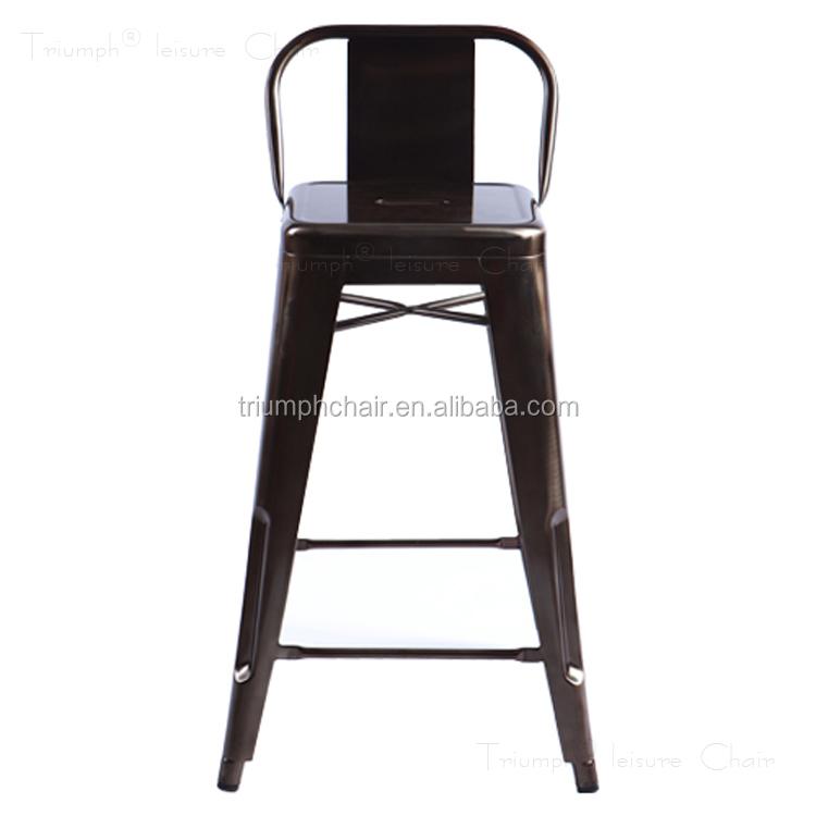 Triumph de haute qualit m tal ext rieur tabourets de bar for Chaise aluminium exterieur