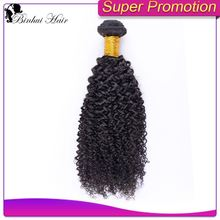 Guangzhou hair factory Wholesale curly hair extension for black women 1b# color