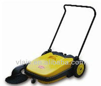 Double ratating brushes Manual cleaning street sweeper 30L rotating clean sweepers