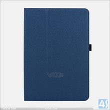 Two folding in stock for samsung galaxy tab a 9.7 tablet case wholesale folio cover pu leather case