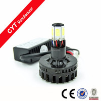 M6 30W 12/80V 6 COB LED H4 Motorcycle lights led headlight