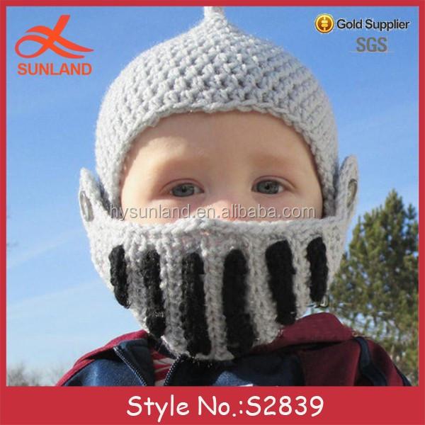 S2839 New Baby Kids Handmade Free Crochet Patterns Crochet Helmet ...