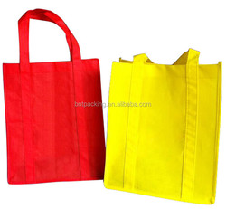 2015 Hot sale eco friendly shopping craft non woven shopping bags