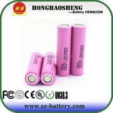 Original Samsung ICR18650-26F battery cell/26F 3.7V 2600 mah battery /Samsung 18650 lithium ion rechargeable battery cell