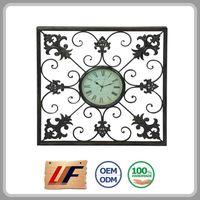 Factory Price New Arrival Decor Luxury Big Waterproof Outdoor Clock