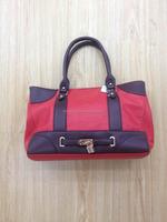 Fashion designer medium size PU leather ladies handbags Guangzhou manufacturer
