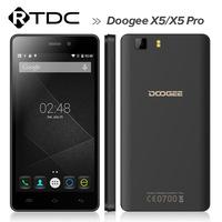 Original Doogee X5 smartphone 5.0 inch 1GB+8GB low cost