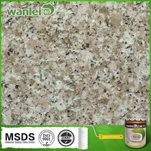 Exterior wall paint to paint granite