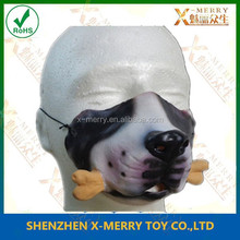 X-MERRY Stag party decoration male dog eat bone animal lower face mask