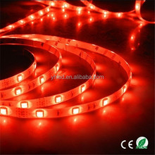garden decorate lighting CE/RoHS 12V Flexible 5050 SMD led strip 14.4 watt per meter