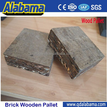 price wooden pallets for brick making machine