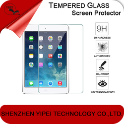 High Quality Clear Tempered Glass Screen Protector for iPad Mini with 2.5D Round Edge