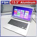 China 2014 nueva alta calidad Dual Core I5 1.70GHz de 13.3 pulgadas Windows ® del ordenador portátil XP/7/8 de metal / ultrabook