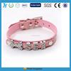 Durable diamond buckle shiny pet collars, dog collars manufacturer