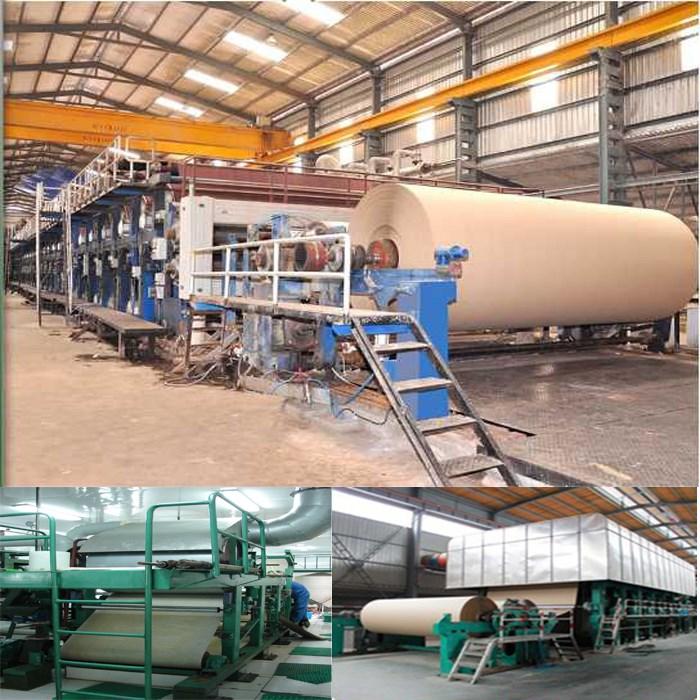 corrugated paper kraft paper machine