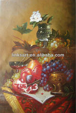 Oil painting still life fruit oil painting