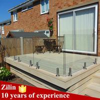 High quality stainless steel spigot for frameless glass railing