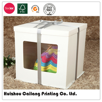 20 Years Professional OEM/ODM Printed Cosmetic Box, paper cake box, Fashion Luxury Gift Paper Box CL229