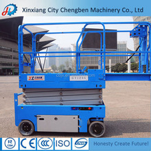 Used Auto Scissor Lift With Folding Table
