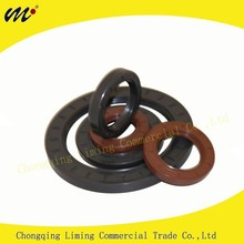 Wholesaling Automotive and Industrial Rubber Covered O.D FKM TC Dual Lip Dustproof Plastic Oil Seal