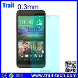 Cheap But High Quality 0.3mm Tempered Glass Screen Protector for HTC Desire 816