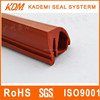 E-shaped Rubber protective strips / custom made pvc seal strip