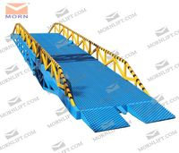 8 ton truck loading ramps for warehouse