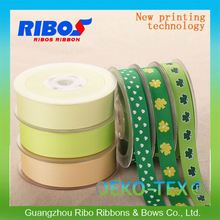 Quality Strict Control Custom Ribbon Work Designing On Card Logo Tape