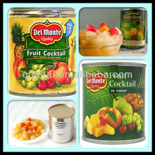 High quality Canned Mixed Fruits