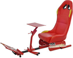 Hot sale folding simulator racing driving cockpit seat