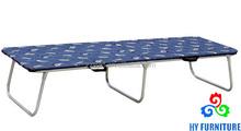 Zhangzhou, China wholesale home furniture metal folding beds with mattress